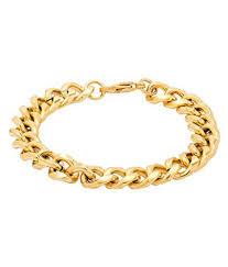 simple gold bracelet price images Voylla simple gold plated chain design bracelet buy online at low jpg