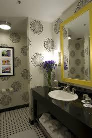Designer Wallpaper For Bathrooms Photo Of Nifty Designer Bathroom - Designer bathroom wallpaper