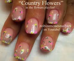 4 simple flower nail design robin moses nail art quot flower