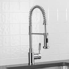 brushed nickel kitchen faucet image is loading fontaine