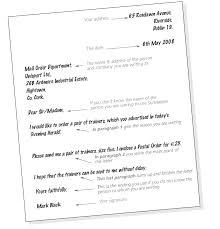 4 best images of informal letter format template formal and