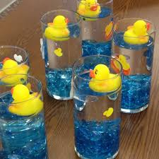 duck decorations marvelous rubber duck baby shower centerpiece ideas 42 with