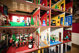 full size lego house real life lego house the pair say their latest model is the biggest