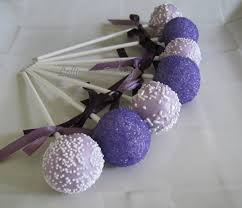 wedding cake pops purple ombre cake pops wedding cake pops made to order with high
