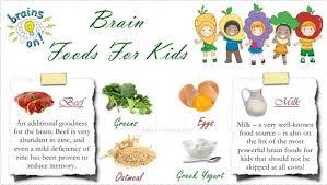 top 26 best nutrients u0026 healthy brain foods for kids