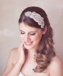 great gatsby hair accessories silver headpiece silver wedding