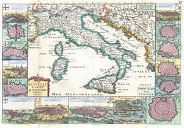 Map Of Italy by Map Of Italy From 1706 Issued By Daniel De La Feuille It Is
