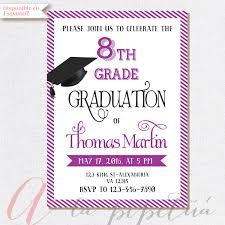 8th grade graduation cards designs free printable graduation invitation templates also free
