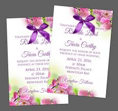 Wedding Programs With Ribbon Wedding Invitations In Jamaica Get Your Beautifully Designed
