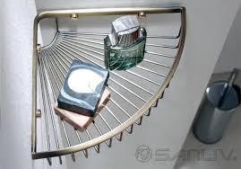 how high do you hang corner basket shower caddy shelf hotel
