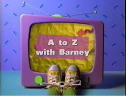 Barney And The Backyard Gang A Day At The Beach Image A To Z With Barney Jpg Barney Wiki Fandom Powered By Wikia