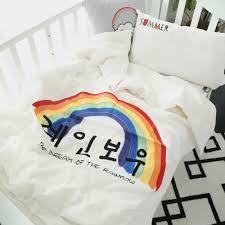 online get cheap comforter kids with rainbows aliexpress com