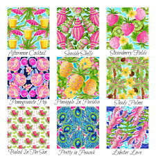 Lilly Pulitzer Home Decor Fabric Coffee Tables Lilly Pulitzer Shower Curtain Garnet Hill Lilly