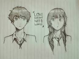 anime love sketch bt arthakw by arata chi on deviantart
