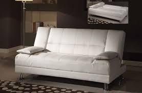 white leather futon sofa white leather futon couch luxurious furniture ideas