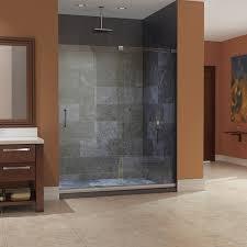 Mirage Shower Doors Dreamline Mirage Frameless Sliding Shower Door And Slimline 32 In