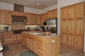 rustic hickory kitchen cabinet doors having hickory kitchen