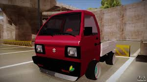 suzuki carry truck suzuki carry drift style for gta san andreas