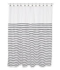 White And Black Shower Curtains Home Bath U0026 Personal Care Shower Curtains U0026 Rings Dillards Com