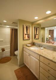 recessed bathroom mirror lighting interiordesignew com