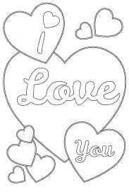 sport i love you heart coloring pages i love you coloring pages