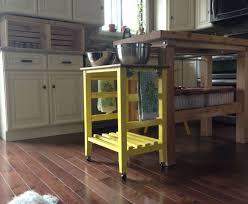 hayneedle kitchen island small kitchen island cart amazoncom origami rbt06 foldable