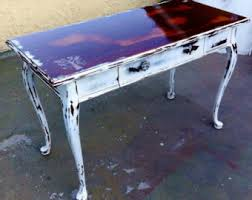 Distressed Sofa Table by Long Sofa Table Etsy
