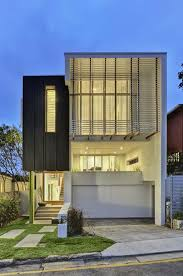 modern house front view design home elevation archives decorating