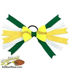 softball hair bows 20 best softball hair bows images on softball hair