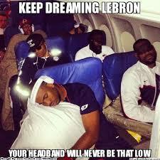 Lebron Headband Meme - chicago fan grabs lebron s headband pisses off james