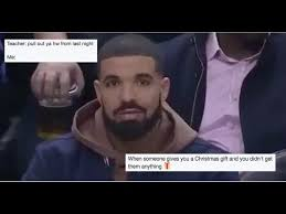 Drake Lean Meme - drake got caught mixing his own cocktail at a game and it s