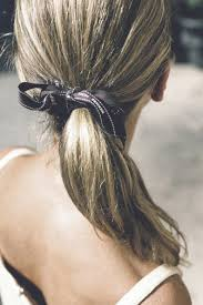 ribbon ponytail moodboard beauty hermes ribbon ponytail