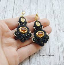 beautiful earrings earrings pieces of the sun big earrings beautiful earrings to