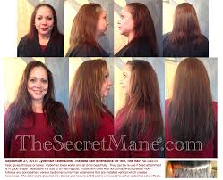Before After Hair Extensions by Hair Extensions For Thin Hair Before And After