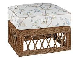fine furniture design biltmore trellis wicker ottoman u2013 john kilmer