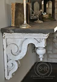 Diy Entry Table by Serendipity Refined Blog Reclaimed Architectural Corbel Diy