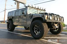 military hummer h1 hummer h1 with 22in grid offroad gf3 wheels exclusively from