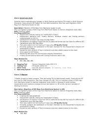 exle of a resume resume edi ranjan