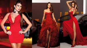 red dresses for christmas eve party youtube