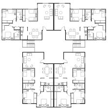 unit designs floor plans unit apartment building plans home design ideas 4 family eight