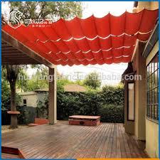 Sail Cloth Awning Wave Shade Sail Hdpe Awning Curtains Buy Retractable Shade