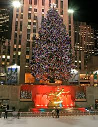 in new york 2017 rockefeller center tree