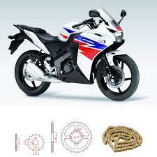 honda cbr rate honda cbr 125 r b d 2011 2016 heavy duty chain and sprocket kit