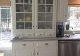 halifax kitchen hutch cabinet in white distressed mahagony by nova