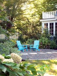 Landscaping Ideas For Backyard by Concrete Patios Hgtv