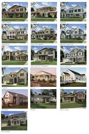 Different Style Of Houses Vinyl Siding Styles Using Different Profiles Textures And Colors