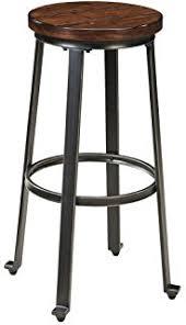 Rustic Pub Table Set Amazon Com Ashley Furniture Signature Design Challiman Dining