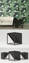 minimalist side table these side tables are designed to hide wireless speakers within