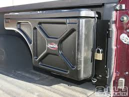 Ford F250 Truck Tool Box - swing case toolbox install undercover wtr 8 lug magazine