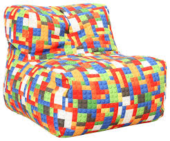 lego inspired beanbag contemporary bean bag chairs by